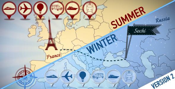 World Trip Summer Winter