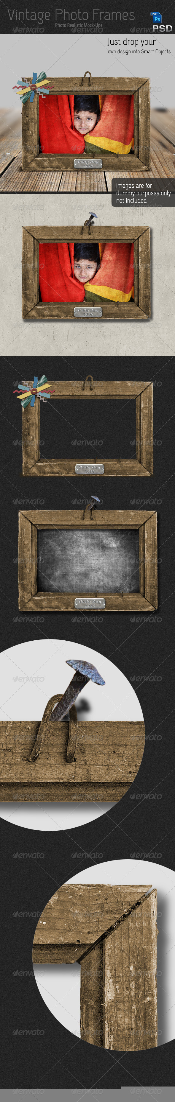 GraphicRiver Vintage Photo Frames 6581684