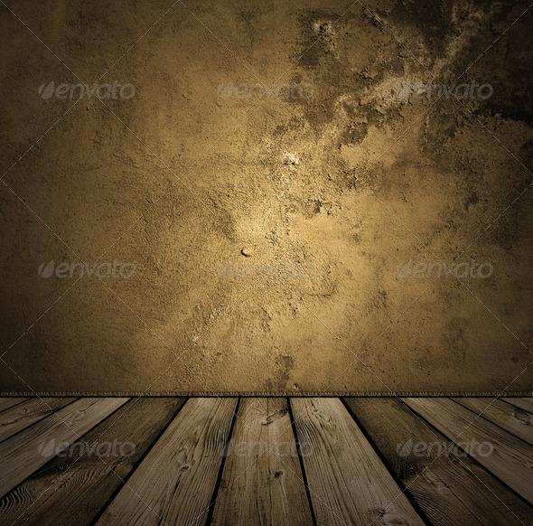 PhotoDune brown vintage interior 691242