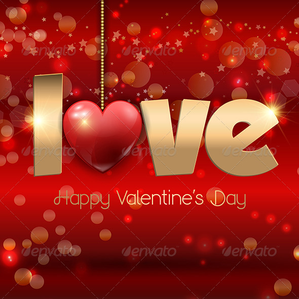 GraphicRiver Valentines s Day Background 6590086