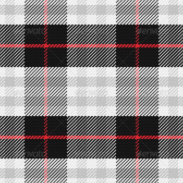 GraphicRiver Seamless Pattern Scottish Tartan 6590090