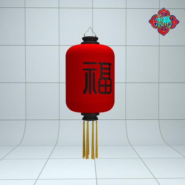 3DOcean Chinese traditional Lantern C 6590116