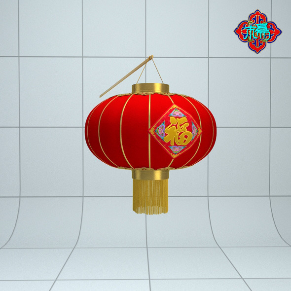 3DOcean Chinese traditional Lantern D 6590201
