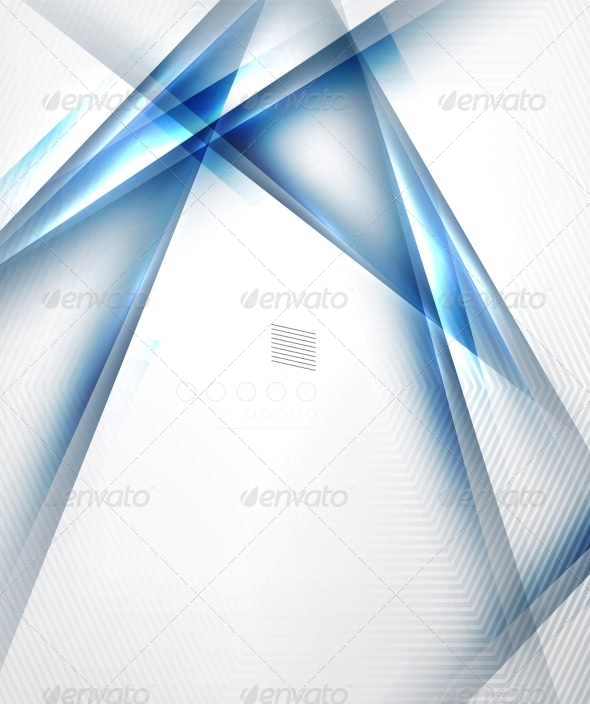 GraphicRiver Blue Light Shadow Straight Lnes Design 6591147