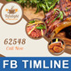 Restaurant Business FB Timeline | Volume 3 - GraphicRiver Item for Sale