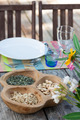 Table setting in summer holiday house - PhotoDune Item for Sale
