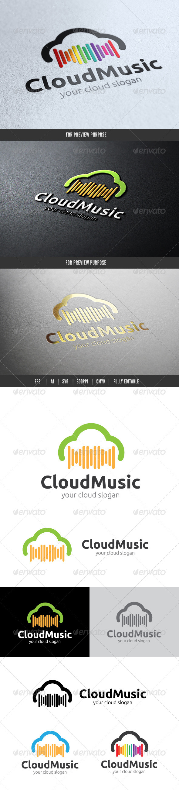 GraphicRiver Cloud Music 6591832