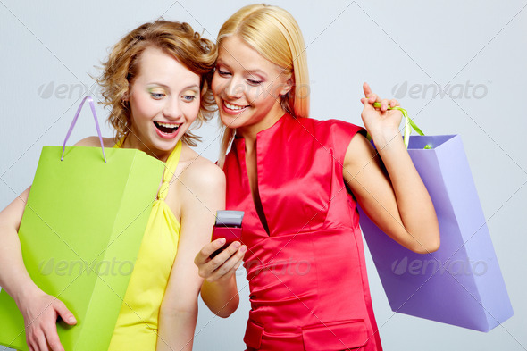 Female shoppers - Stock Photo - Images