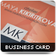 Developer Business Card - GraphicRiver Item for Sale