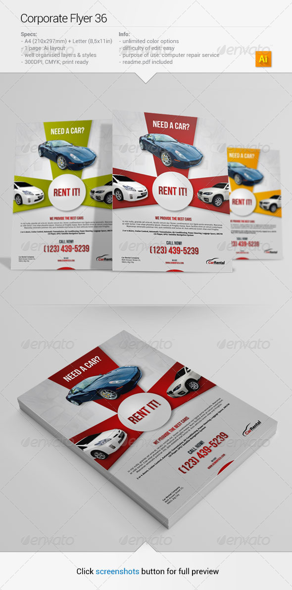 GraphicRiver Corporate Flyer 36 6592221