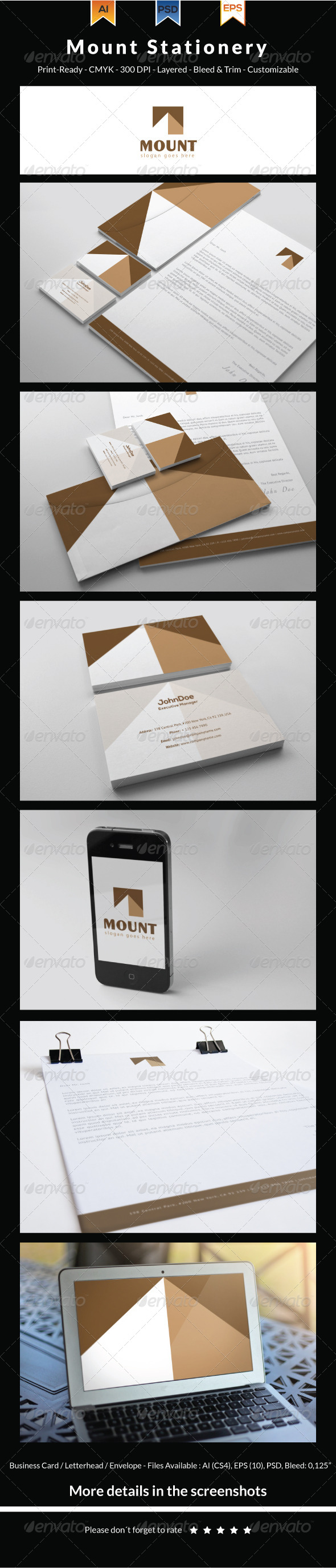 Mount Stationery