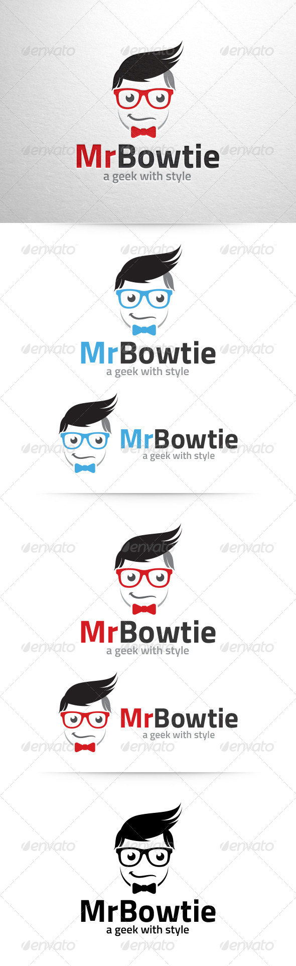 GraphicRiver Mister Bowtie Logo Template 6592462