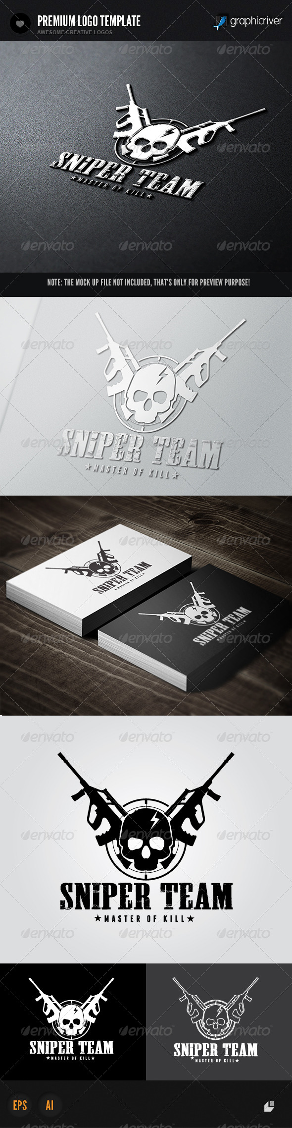 GraphicRiver Game Team Logo 6592507