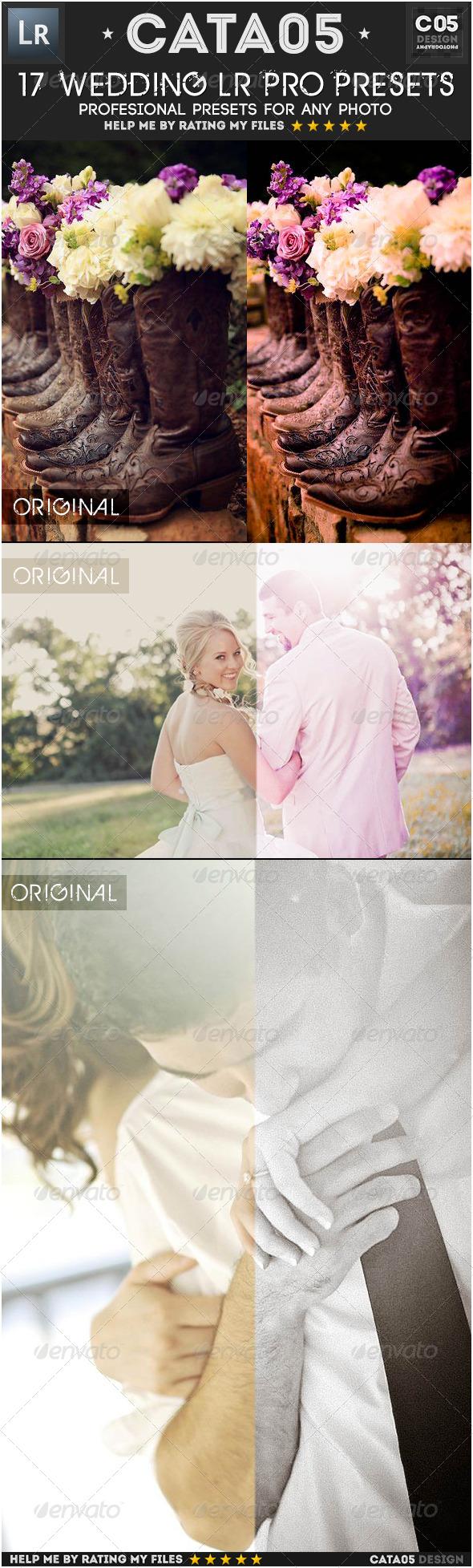 GraphicRiver 17 Wedding Pro Presets 6592601