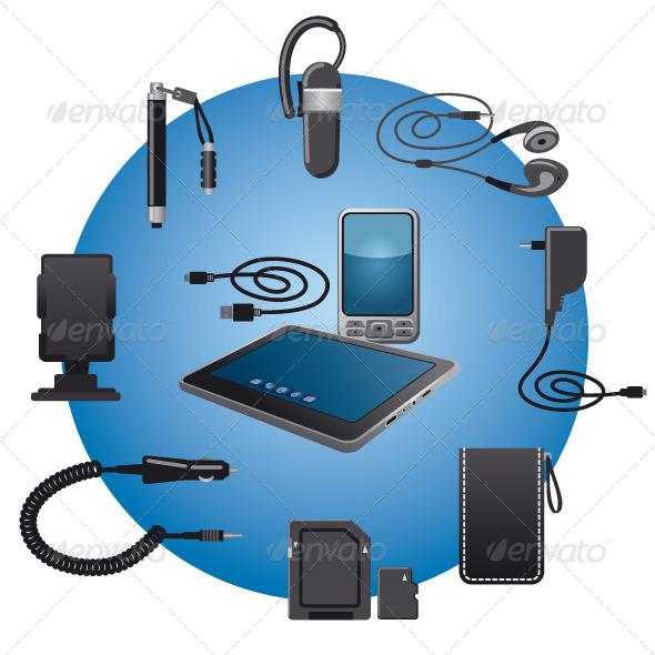 GraphicRiver Devices Accessories 6592672
