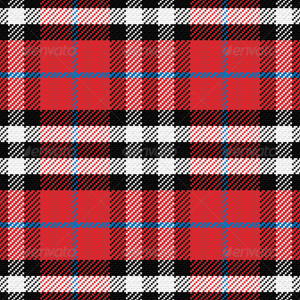 GraphicRiver Seamless Pattern Scottish Tartan 6592733