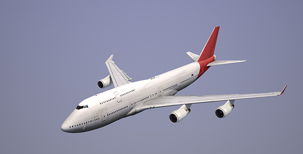 Boeing 747 Qantas - 3DOcean Item for Sale