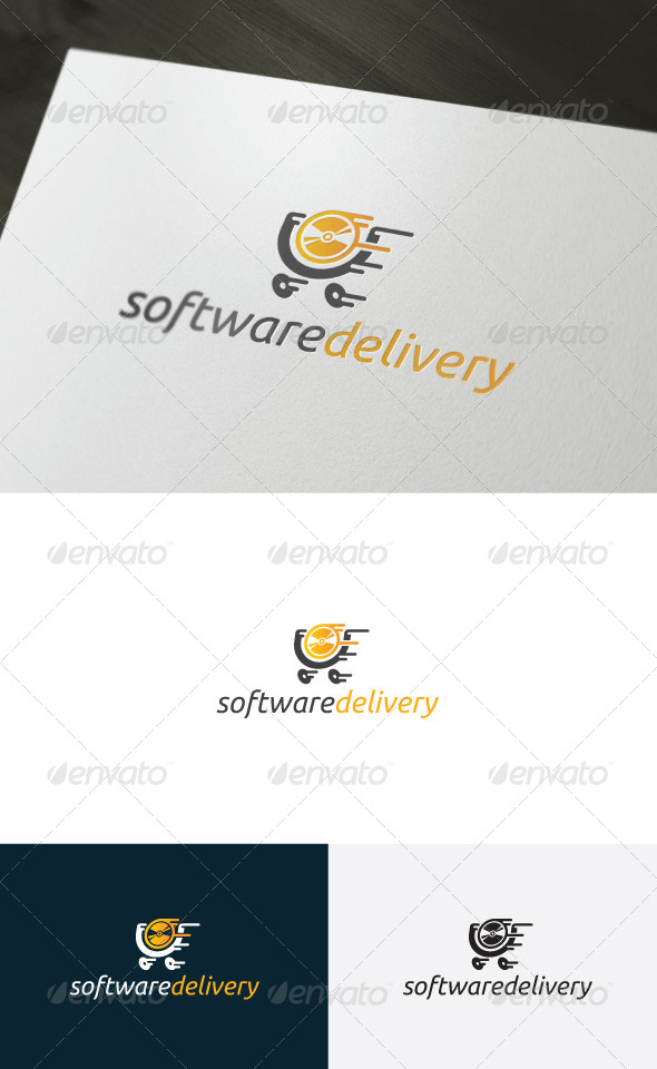 GraphicRiver Software Delivery Logo 6587407
