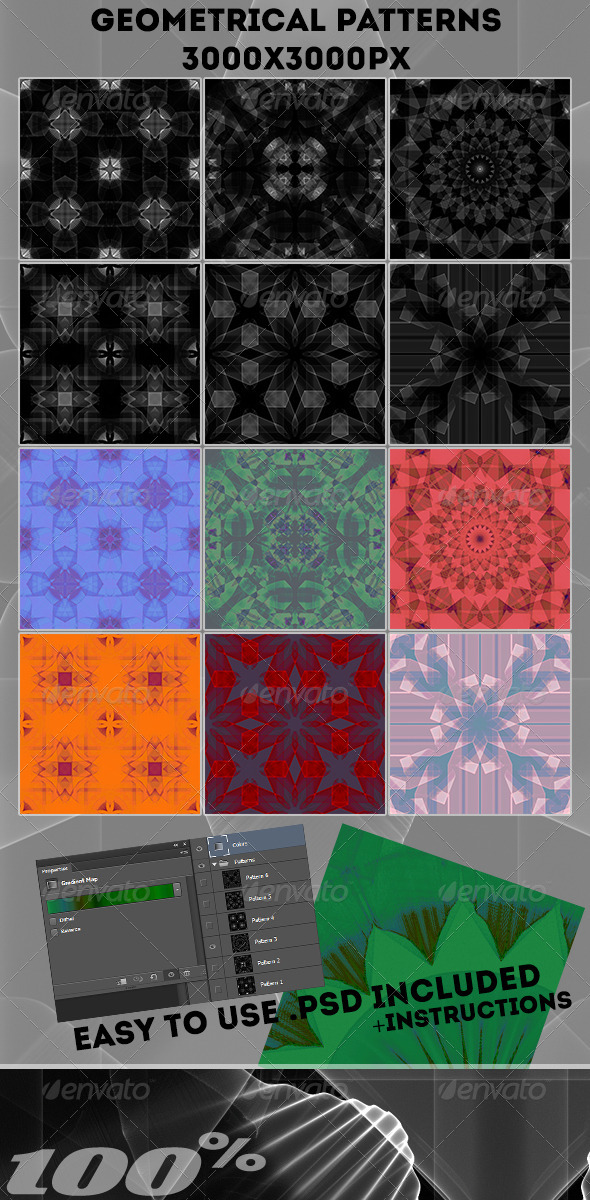 GraphicRiver Geometrical Patterns 6559241