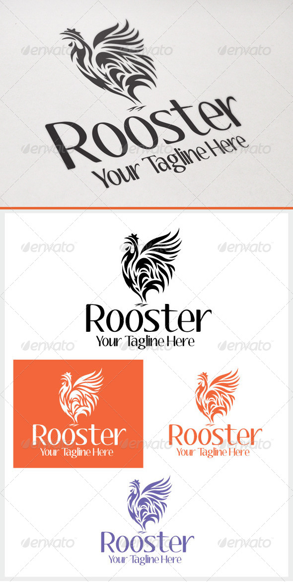 GraphicRiver Rooster 6594082