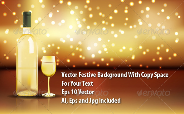 GraphicRiver Wine Background 6594375
