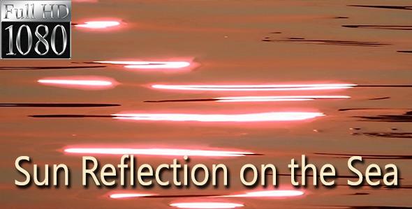 Sun Reflection on the Sea