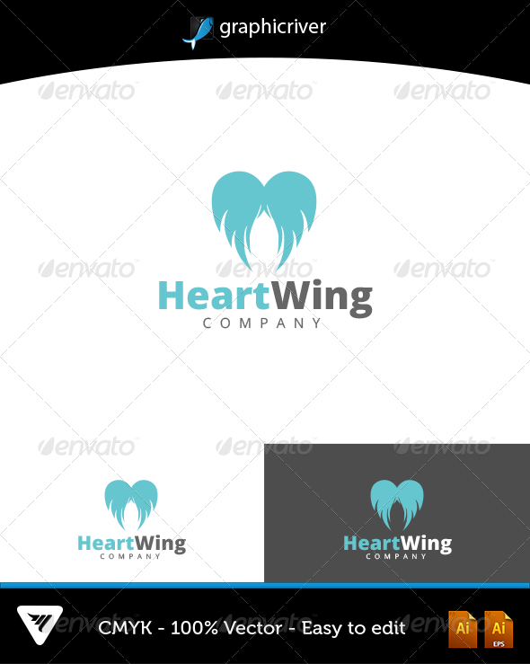 GraphicRiver HeartWing 6595051