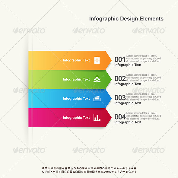 GraphicRiver Arrow Infographic Elements 6595624
