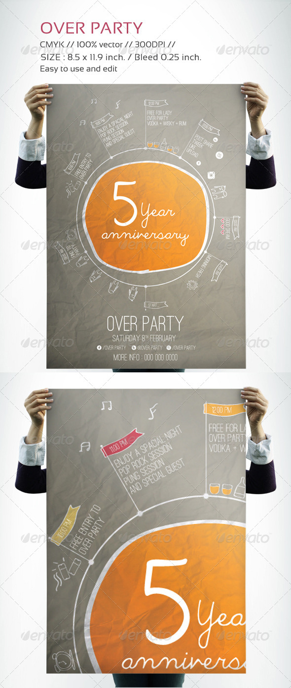 GraphicRiver Over Party 6589807