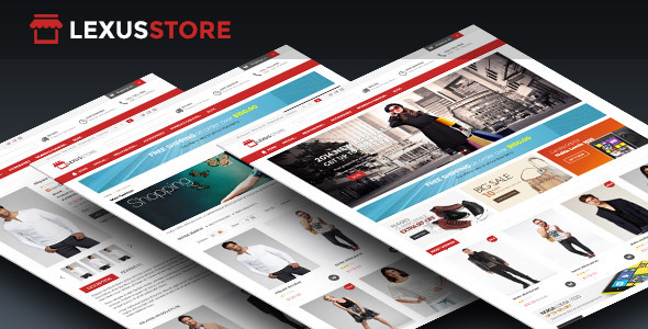 Lexus Store Responsive Opencart Theme Download