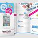 Mobile & Social Media Tri - fold Brochure - GraphicRiver Item for Sale