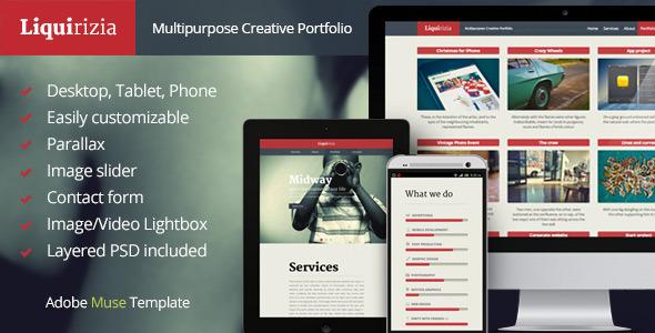 Liquirizia - Multipurpose Creative Portfolio