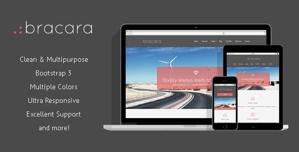 ThemeForest Bracara Responsive HTML5 Template 6560184
