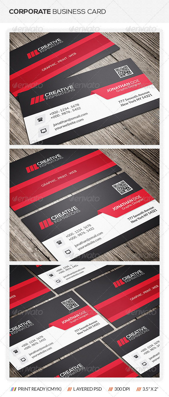 GraphicRiver Creative Corporate Business Card 6597842