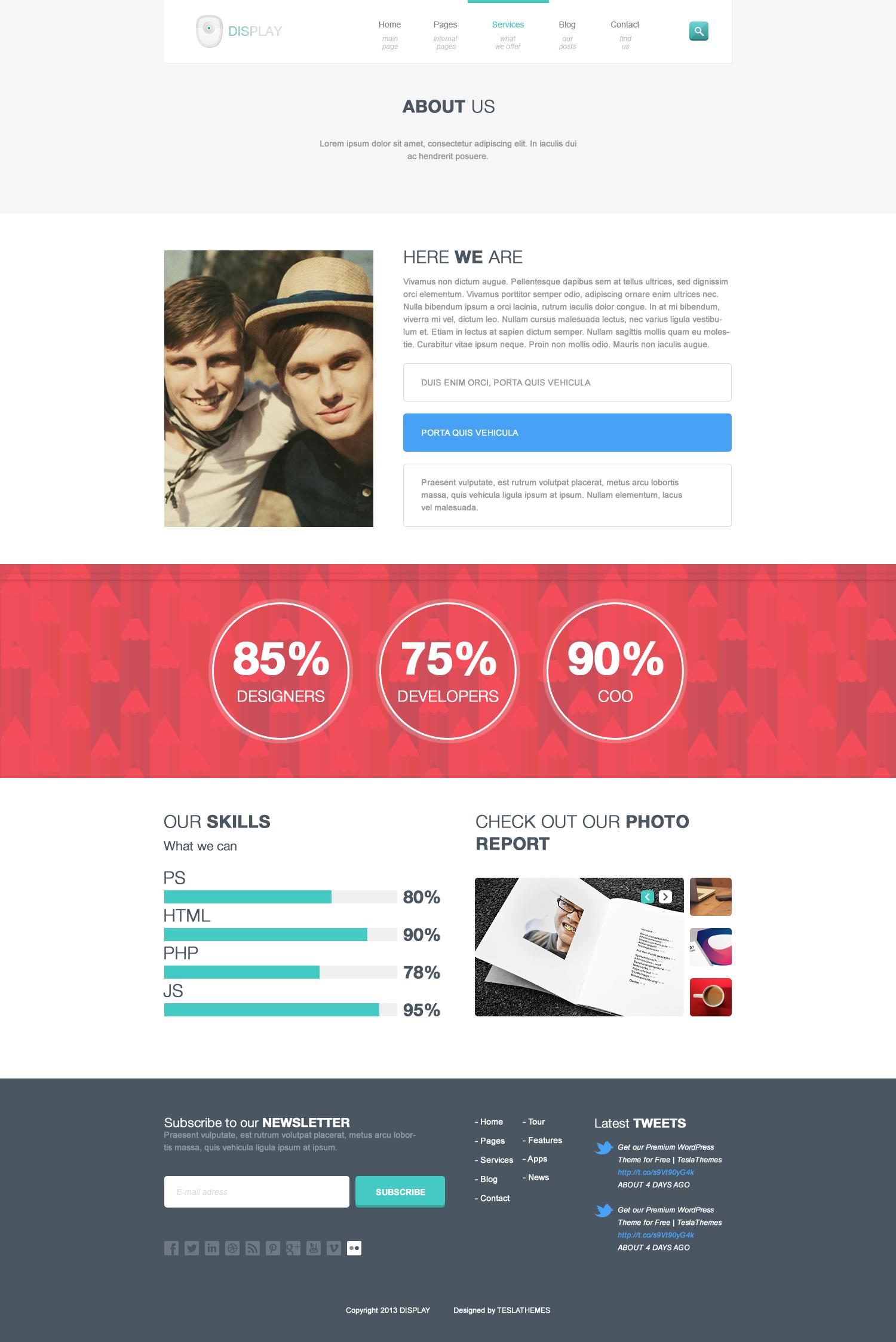 Display - Responsive WordPress Theme
