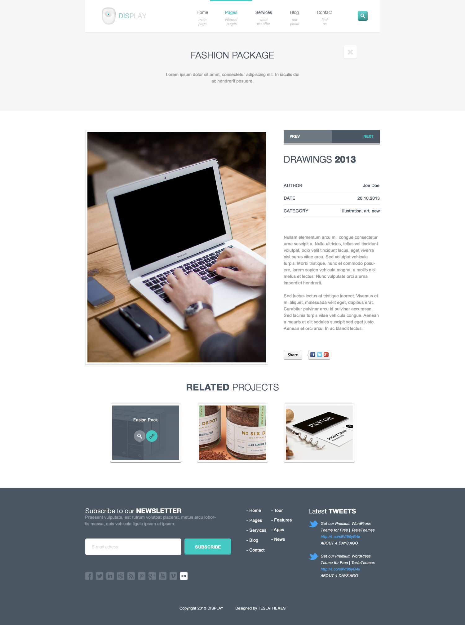 Display - Responsive WordPress Theme