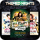 Themed Nights Flyer Bundle - GraphicRiver Item for Sale