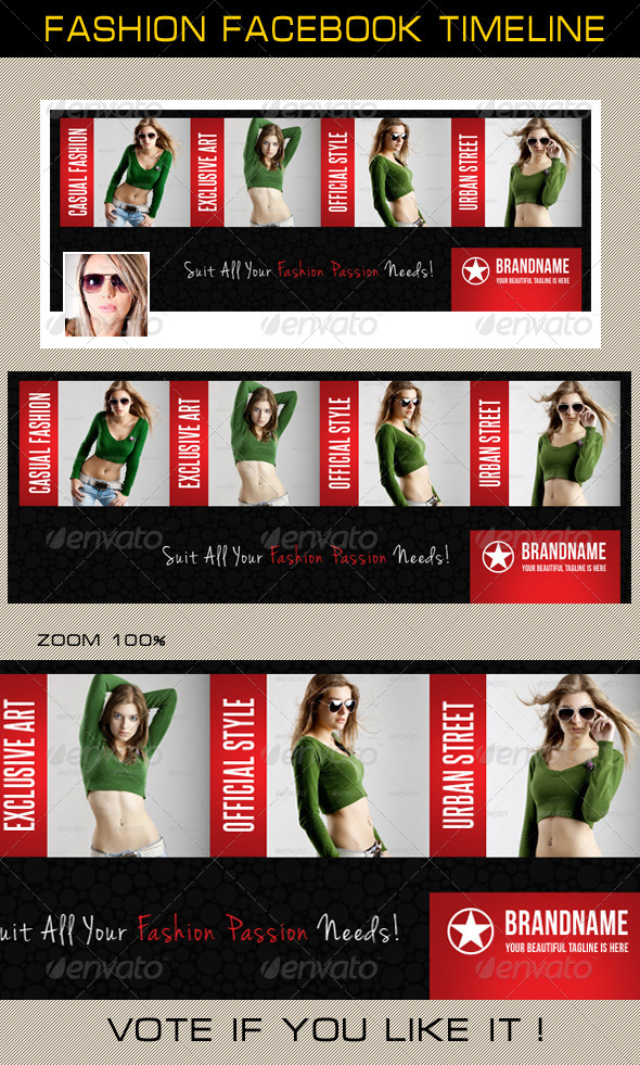GraphicRiver Fashion Facebook Timeline 06 6598279
