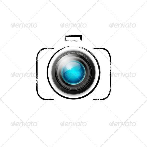 GraphicRiver Vector Camera Icon 6598466