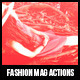 Fashion Mag Actions - GraphicRiver Item for Sale
