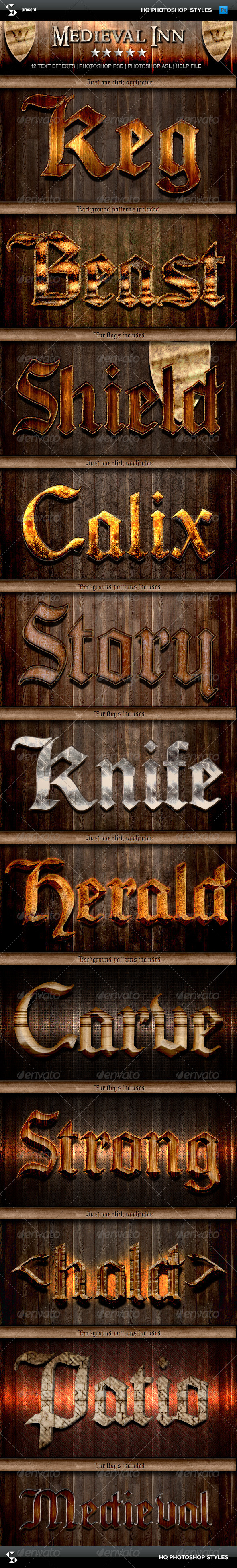 GraphicRiver Fantasy Styles Medieval Inn 6598650