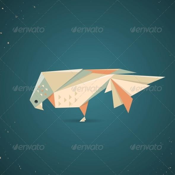GraphicRiver Origami Bird 6598860