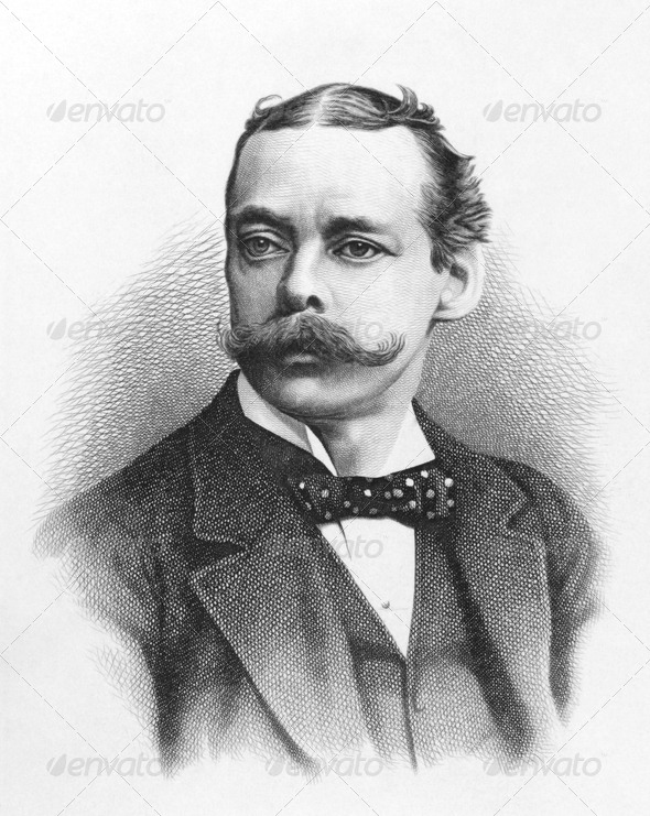 Lord Randolph Churchill - Stock Photo - Images