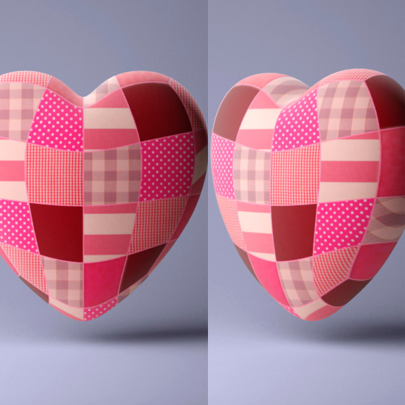 3DOcean Heart Pillow 6599770