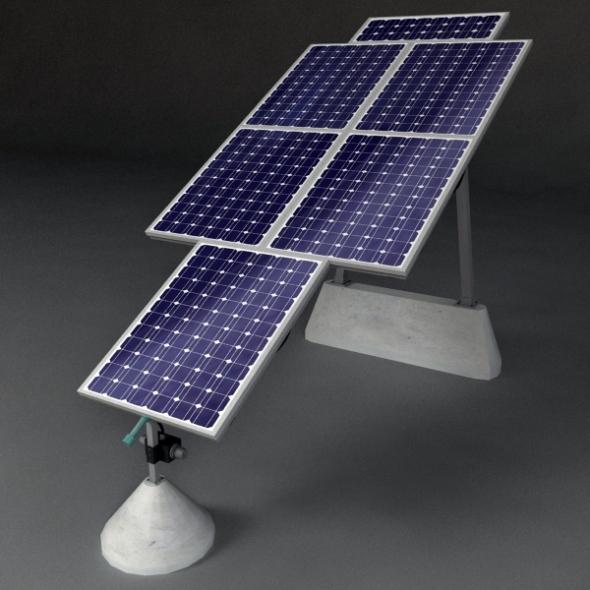 3DOcean Solar Panels 2 692769