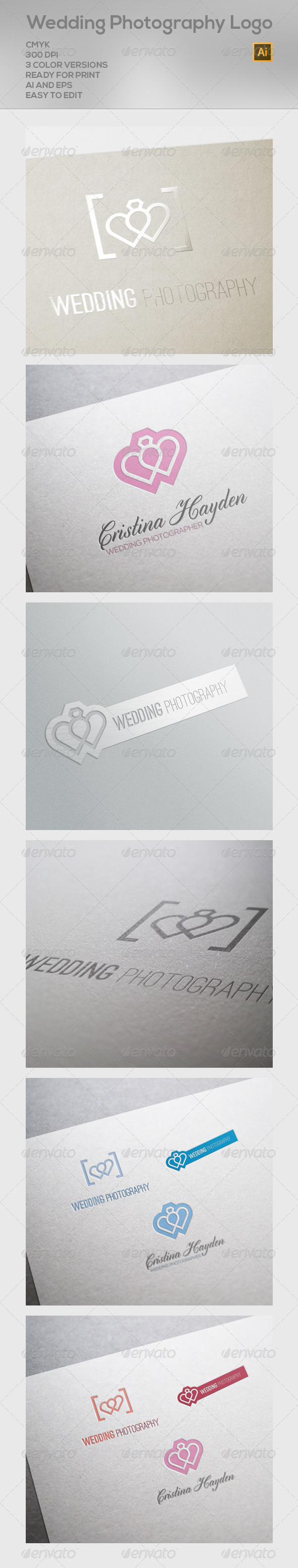 GraphicRiver Wedding Photography Logo 6592751