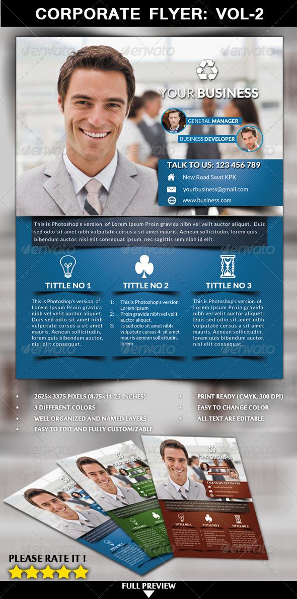 GraphicRiver Corporate Flyer Vol 2 6600856