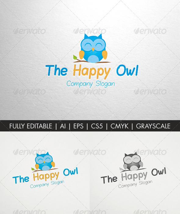 GraphicRiver The Happy Owl 6535814