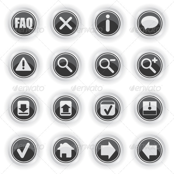 Web Icon Symbols