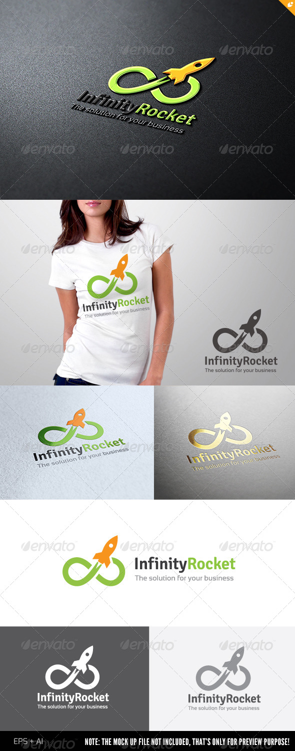 GraphicRiver Infinity Rocket 6601080